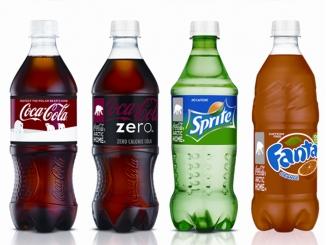 Coca Cola, Coca Cola Zero, Fanta, Sprite