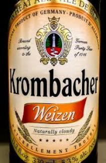 Bere Krombacher Weizen (nefiltrata)