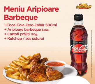 Meniu Aripioare Barbeque