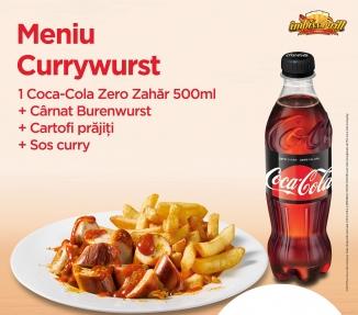 Meniu Currywurst